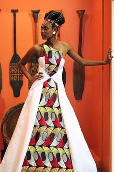 Ideas on African fashion styles 288 African Print Dresses, African Print Fashion, Africa Fashion, African Fashion Dresses, African Dress, African Prints, Ankara Fashion, Fashion Outfits, African Fabric