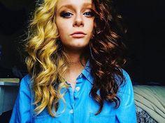 WEBSTA @ thesethingshidden - Virginia weather and lack of sleep seem to agree with me. #virginiaweather #eastcoast #VA #woodbridge #vacation #choloshirt #halfsies #blondette #selfie #curlyhair #clarendonfilter #lackofsleep #lotsofmakeup #forundereyebags #stayinghereforever #untilitsnows #thisraintho #andthemtrees #wideframe #snail #VSCOCam #iphone5s