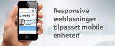 Webløsninger tilpasset mobile enheter