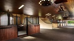 Interior shot of the gorgeous #stables at Palma Lane.