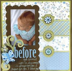 Image result for scrapbook layout with circles