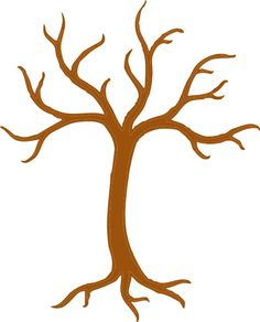Tree with No Leaves | Tree clip art - vector clip art online, royalty free & public domain