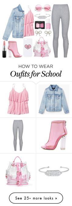"""""""100% Sassy"""" by meaganmuffins on Polyvore featuring Topshop, NIKE, Gap, MANGO, WithChic, Essie, MAC Cosmetics, NARS Cosmetics, Belk Silverworks and ZeroUV"""