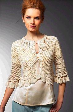 bolero crochet elegant (7)