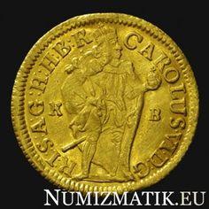 KAROL VI. gold ducat 1715