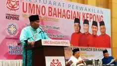 Wang berbilion dalam akaun bank Wan Azizah Wan Ismail dan anaknya, kata Ketua Umno Bahagian Kepong - http://malaysianreview.com/140884/wang-berbilion-dalam-akaun-bank-wan-azizah-wan-ismail-dan-anaknya-kata-ketua-umno-bahagian-kepong/