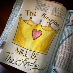 so true! ♡ on pinny, on insta ♡ Lamentations, Psalms, Bible Art, Bible Verses, Bible Doodling, Illustrated Faith, God First, Bible Journal, Art Journaling