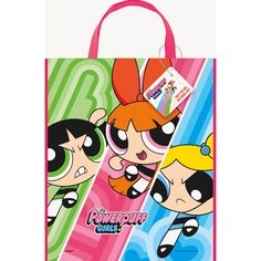 Check out Powerpuff Girls Tote Bag | Tableware and décor for your next party from Birthday in a Box from Birthday In A Box