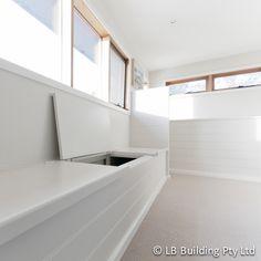 Lining Boards In Dulux Whisper White Sisal Carpet Natural