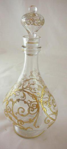 Antique wine carafe