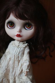 OOAK Custom Blythe Doll Cherry by Donna by Moctopus on Etsy