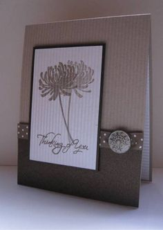 Kind & Caring Thoughts CAS115 Thinking of You by nancy littrell - Cards and Paper Crafts at Splitcoaststampers