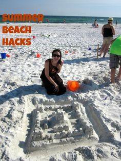 7 Beach Hacks- tips and tricks to make your next family beach trip more enjoyable