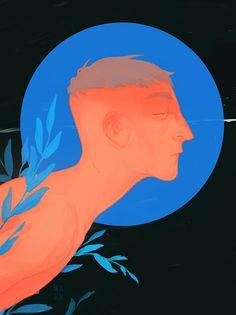https://www.behance.net/gallery/31837947/Blue-Leaves