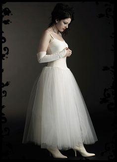 Gothic fairy lolita wedding dress