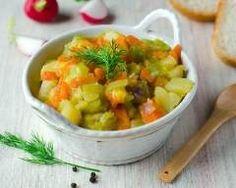 Fondue de poireaux, carottes et pommes de terre Ingrédients