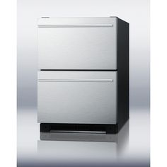 "Summit Appliance 24"" Built-in Drawer Refrigerator"