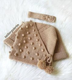Mehrfachbestellung Area 57 Baby Weste Cardigan Booties Knitting Models – My CMS Baby Knitting Patterns, Baby Booties Knitting Pattern, Kids Dress Patterns, Knitting For Kids, Crochet For Kids, Knitting Designs, Baby Patterns, Knitting Tutorials, Fleece Hats
