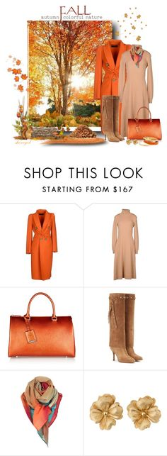 """""""Fall Landscape Contest"""" by sherryvl ❤ liked on Polyvore featuring Dsquared2, Michael Kors, Jil Sander, Valentino, Paul Smith and Tiffany & Co."""
