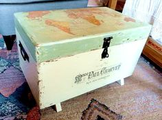 Upcycled Old World Trunk - Reader Feature - The Graphics Fairy