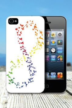 Infinity rainbow iPhone case. #onlineshopping #iPhone #blisslist Buy it on BlissList: https://itunes.apple.com/us/app/blisslist-easy-shopping-gifting/id667837070