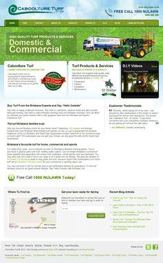 Web Design for Caboolture Turf in Brisbane Web Development Agency, Design Development, Custom Web Design, Portfolio Web Design, Web Design Services, Brisbane, Blog, Blogging