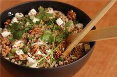 Salade boulgour, quinoa, feta, noix_3