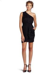 Best Buy BCBGeneration Women's Pleat Flounce Dress, Black, 2 Online Shopping - http://bestcomparemarket.com/best-buy-bcbgeneration-womens-pleat-flounce-dress-black-2-online-shopping
