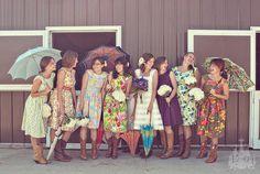 Darling Bridesmaids Dresses by Sohomode