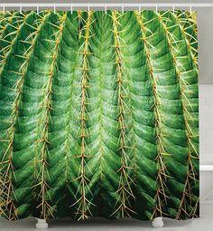 World Menagerie Wapwanga Cactus Graphic Print and Text Semi-Sheer Rod Pocket Curtain Panels Size: Rod Pocket Curtains, Grommet Curtains, Blackout Curtains, Panel Curtains, Curtain Panels, Cactus Shower Curtain, Green Shower Curtains, Vintage Artwork, Flower Pots