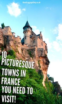 The South of France has some of the prettiest towns that line the Rivera. From East to west, the Mediterranean coast is peppered with tiny hamlets and small vil