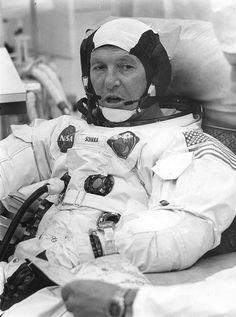 Apollo 7 Commander, Wally Schirra