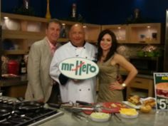 Chef Jim with the New Day Cleveland crew on Cleveland's own Channel 8!