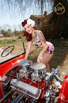 Pin Up Girl 10/20/11 - Rat Rod Nation - Rat Rod, Rat Rods - LGMSports.com