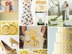Burnetts Boards Soft Yellow Kitty Feel Wedding Inspiration Board