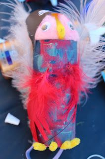 Melissa's Projects: Pirate Parrot Craft Project (for kids)