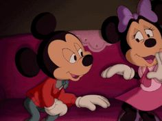 mickey minnie thank you disney Image, animated GIF Mickey Christmas, Christmas Books, Gif Animé, Animated Gif, Mickey Mouse And Friends, Minnie Mouse, Gifs, Pixar, Amor Romance