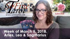 Weekly Tarot March 2018 (Taurus, Virgo & Capricorn) - Tarot So Fine Leo And Sagittarius, Taurus, Libra Aquarius, Astrology Zodiac, Earth Signs, Card Reading, Cancer, March, Youtube