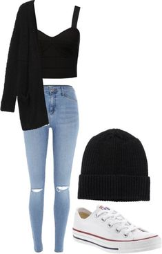 Really Cute Outfits, Cute Lazy Outfits, Casual School Outfits, Pretty Outfits, Stylish Outfits, Girls Fashion Clothes, Teen Fashion Outfits, Outfits For Teens, 80s Fashion