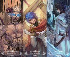 Fairy Tail: Elfman Strauss , Gray Fullbuster , Jellal Fernandes