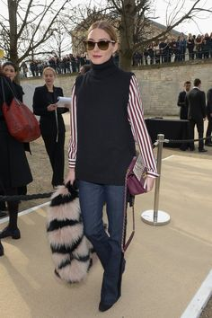 Pin for Later: See Every Celeb Who Sat Front and Center at Paris Fashion Week Olivia Palermo