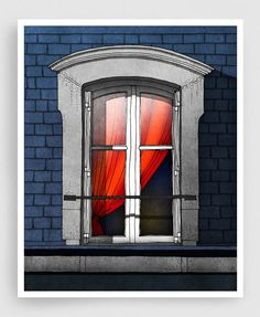 windows and rooftops illustration - Google Search