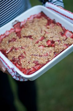 Strawberry Crumble R