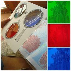 Utilizamos la teoría de absorción de los filtros de luz para realizar un sencillo experimento: escribir y decodificar Mensajes Secretos