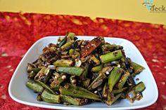 Bhendi Goan Tawa Fry | V - Deck | Pune