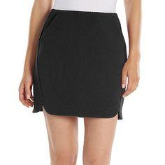 LC Lauren Conrad Textured Mini Skirt - Women's