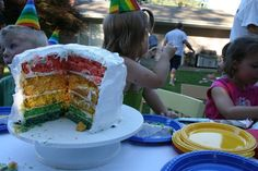 5 Colorful Games to Play at a Rainbow Party