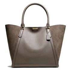 Coach :: LEGACY FULTON TOTE IN MIXED LEATHER