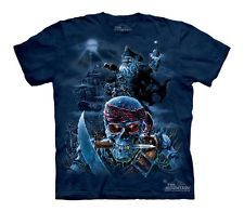 Zombie Pirates Skull Authentic The Mountain Youth Kids Child T-Shirt