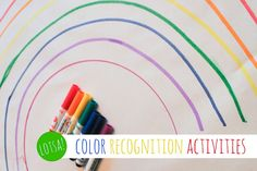 Lotsa colore di riconoscimento Attività bambini in età prescolare